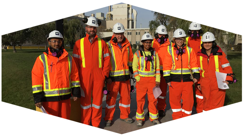 CRH Team Wearing Personal Protective Equipment