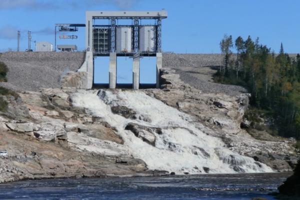 La Romaine Hydroelectric Dam