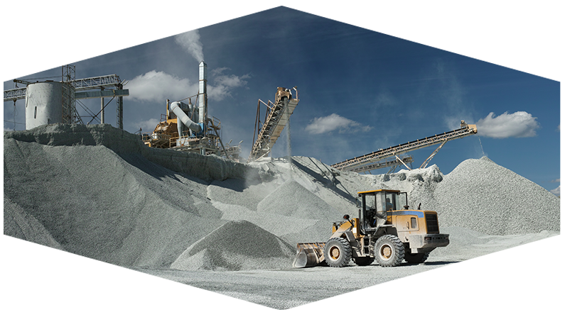 Machines Working at Cement Plant