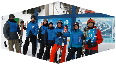 Joliette Team of Skiiers